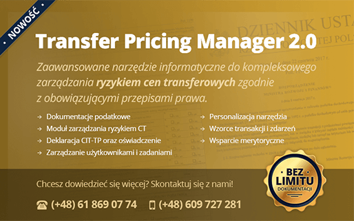 transfer Pricing Manager 2.0